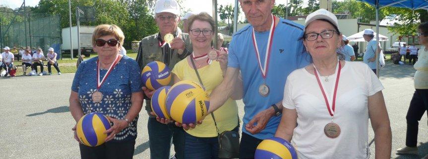 Złoci , Srebrni i Brązowi medaliści wśród Seniorów