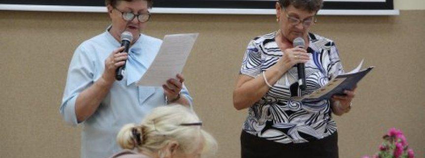 Spotkanie Stowarzyszenia Seniorów 14.10.2019r.