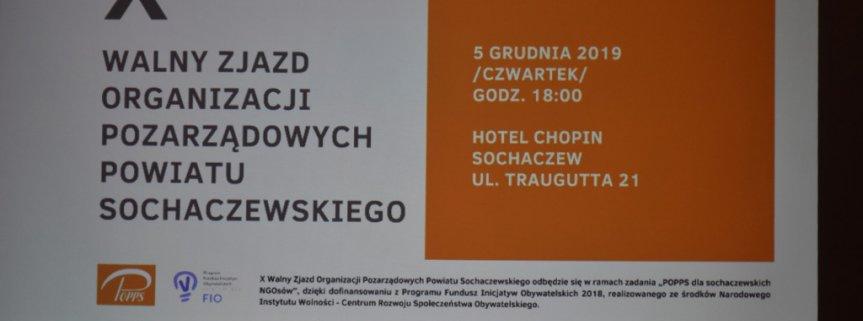 Walny Zjazd Organizacji Pozarządowych Powiatu Sochaczewskiego